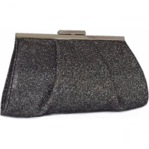 Lomasi Women's Evening Clutch Bag in Carbon Shimmer