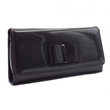 Londara Carbon Mura Leather Clutch Bag