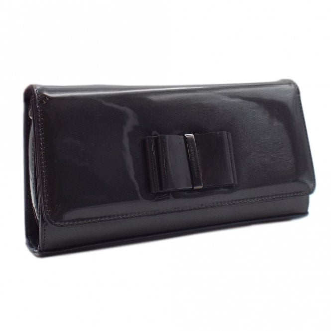 Londara Clutch Bag In Carbon Mura