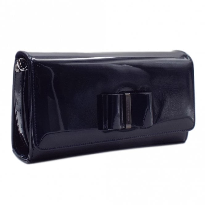 Londara Notte Mura Leather Clutch Bag