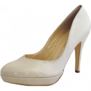 Lukrezia High Heel Court Shoes in Lana Patent