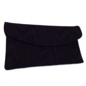 Mabel Black Nico Clutch Bag