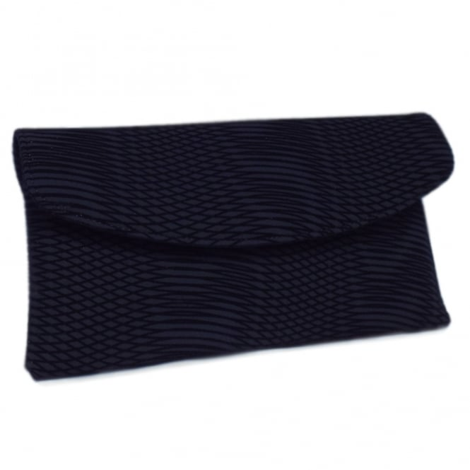 Mabel Navy Nico Clutch Bag