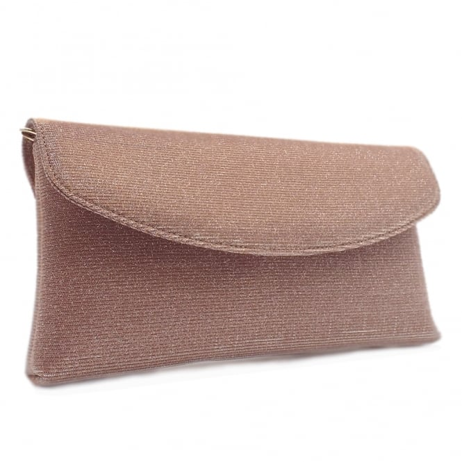 Mabel Powder Shimmer Clutch Bag