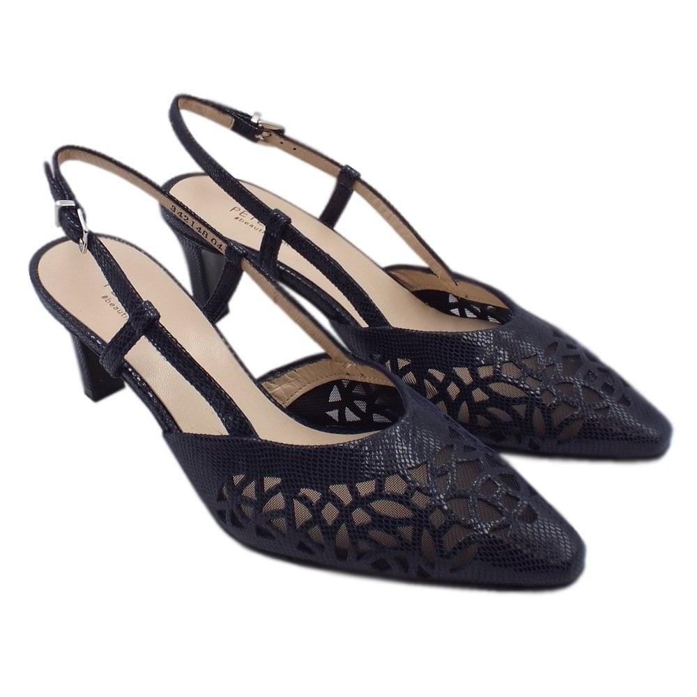 207997bd9e6 ... Mailin Dressy Mid Heel Slingback in Notte Sarto ...