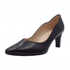 Malin-A Classic Court Shoes in Black