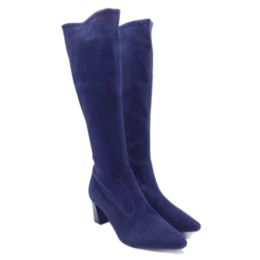 kaiser marabella stretch suede boots