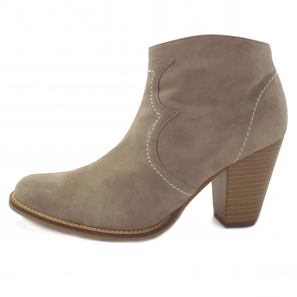 Ladies Taupe Shoes