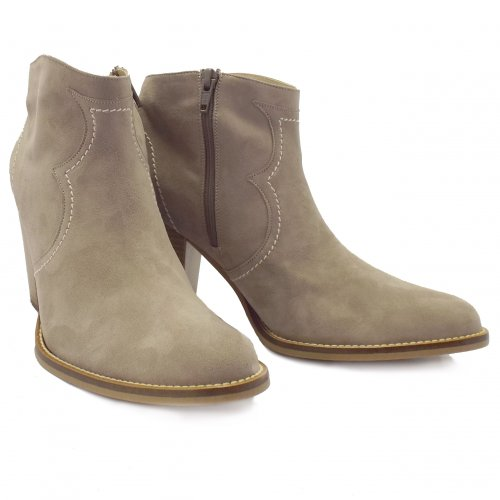Peter Kaiser Marisana | Ladies Suede Ankle Boots in Beige