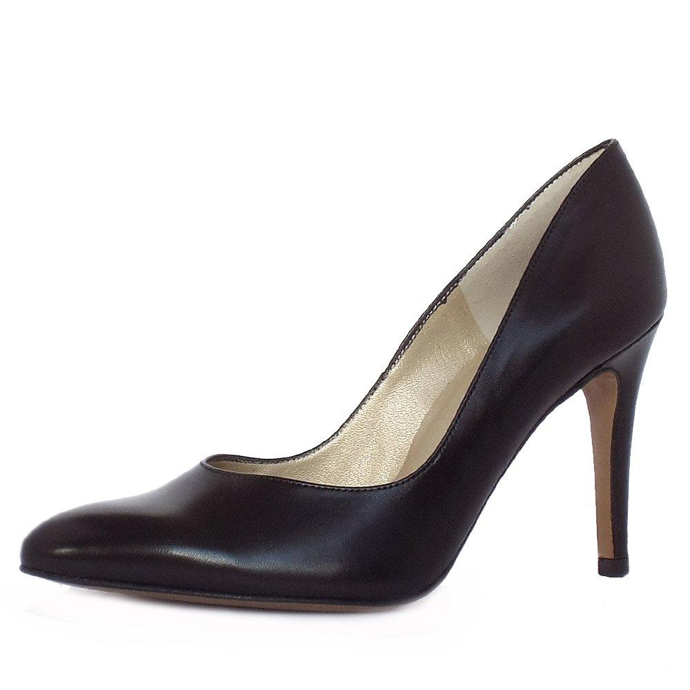 2d1d05198e7 Mina Stiletto Shoe in Black Leather | Peter Kaiser stiletto shoe