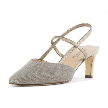 Peter Kaiser Mitty-A Dressy Sandals in Sand Shimmer