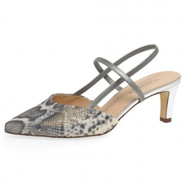 Mitty-A Dressy Sandals in Silver Corfu