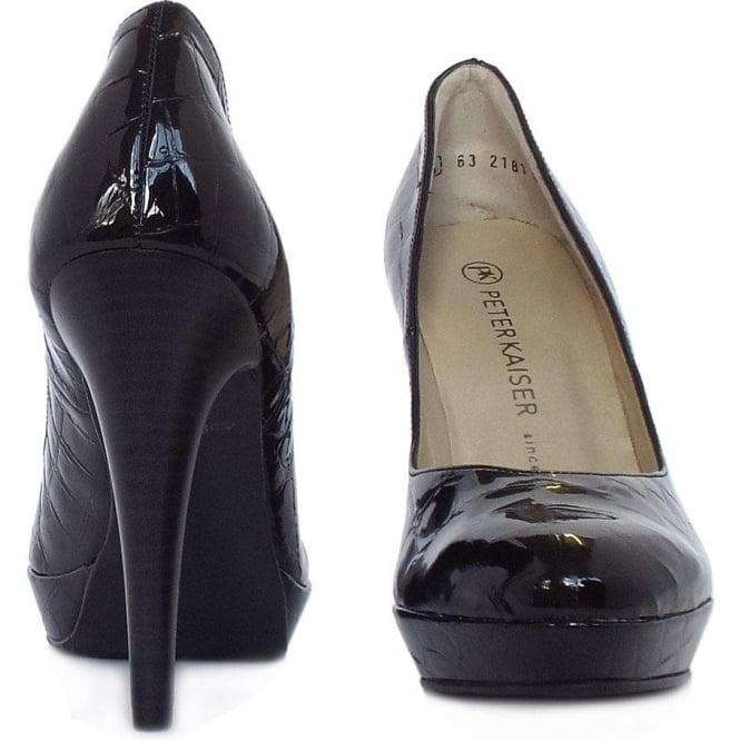 factory authentic 59314 1bca2 Peter Kaiser New York | Stiletto Platform Shoe in Black ...