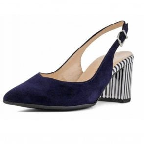Nexy Sling-back Notte Suede