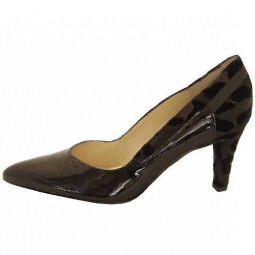peter kaiser olive court shoes black patent. Black Bedroom Furniture Sets. Home Design Ideas