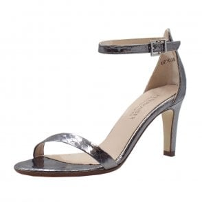 Orlena Ankle Strap Sandals in Carbon Corona