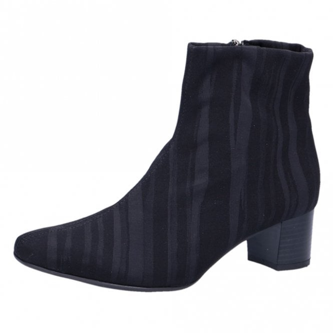 Osara Fashion Ankle Boot in Black