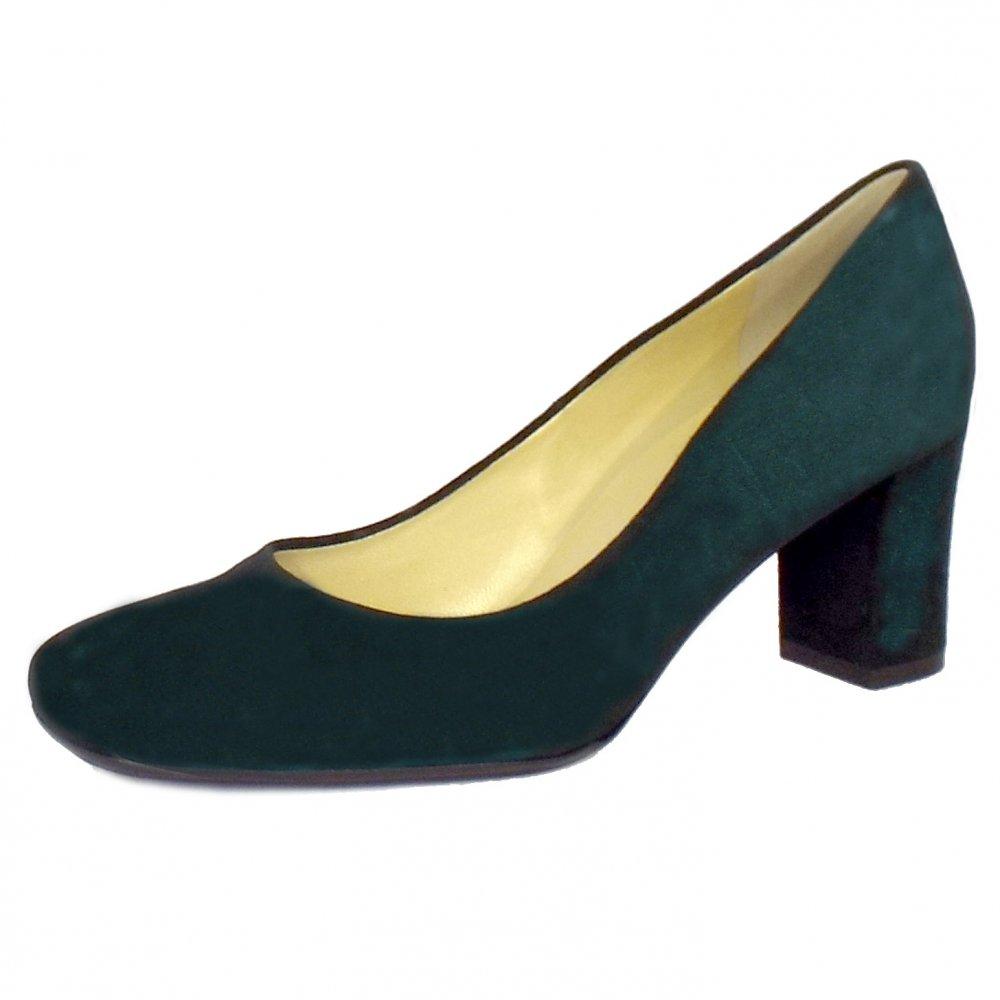 Bottle Green Shoes Ladies
