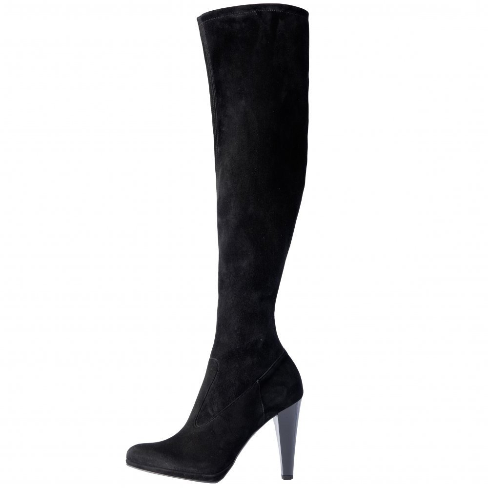 Suede Knee High Boots. Showing 48 of results that match your query. Search Product Result. Paprika Women Over The Knee Thigh Stiletto High Heels Boots Side Zipper YESTIN Black Suede Product - Knee High Heel Womens Suede-Like Boots. Product Image. Price $ Product Title.