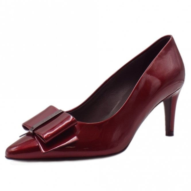 Rexa Rubi Mura Pointed Toe Patent Leather Pumps