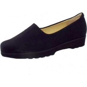 Ronda Comfortable Stretch Shoe in Black