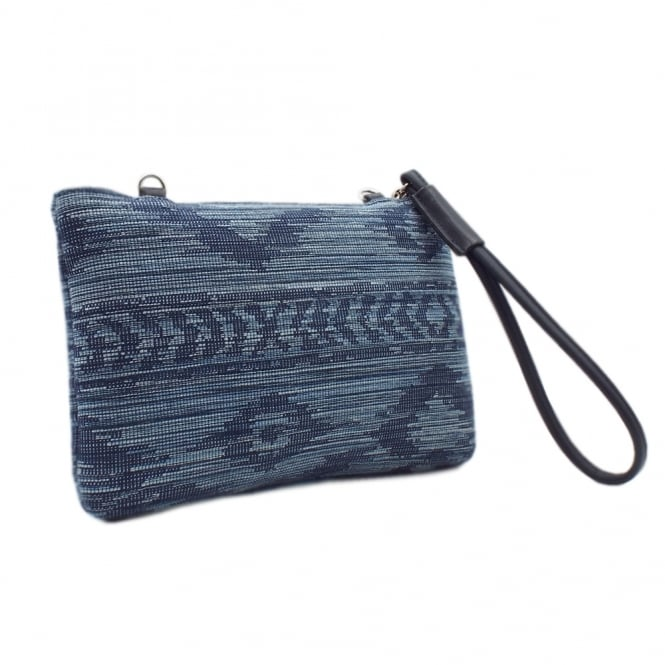 Saldina Notte Jeans Small Clutch Bag