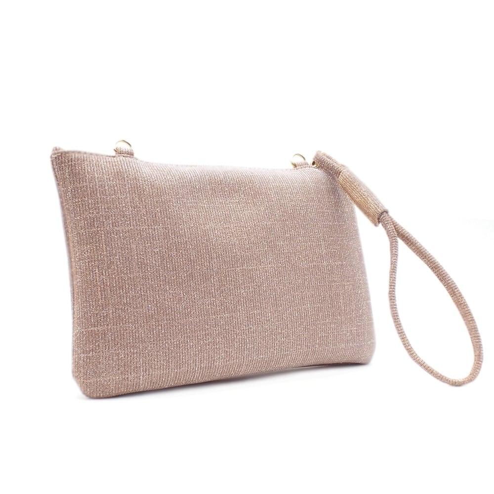 41d5004da38a4 Saldina Women s Evening Clutch Bag in Classy Powder Shimmer ...