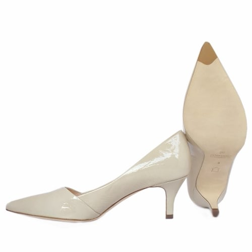 c655154bb5d93 Peter Kaiser UK | Semitara | Lana Crackle Mid Heel Pumps | Pointy Toe