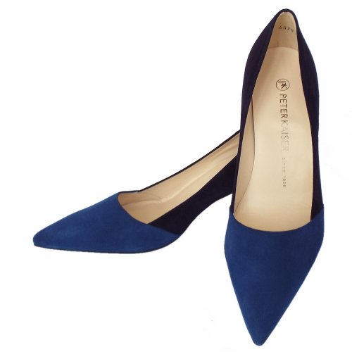 807a32be14a64 ... Semitara Mare Blue and Notte Navy Suede Pointed Toe Pumps. ‹ View All Peter  Kaiser; ‹ ...