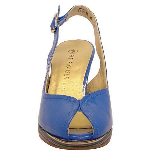 c90f5b6815a ... Silvy saphhire patent peep toe sling back shoes ...