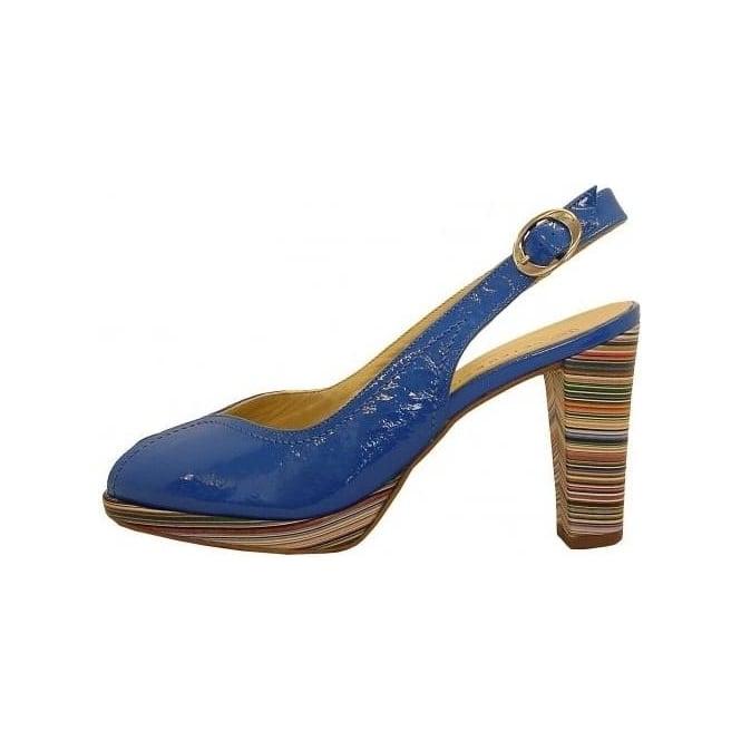 SilvySapphire Patent Pee Kaiser Toe Shoes Multicolour Heel Peter jSzUpGVqML