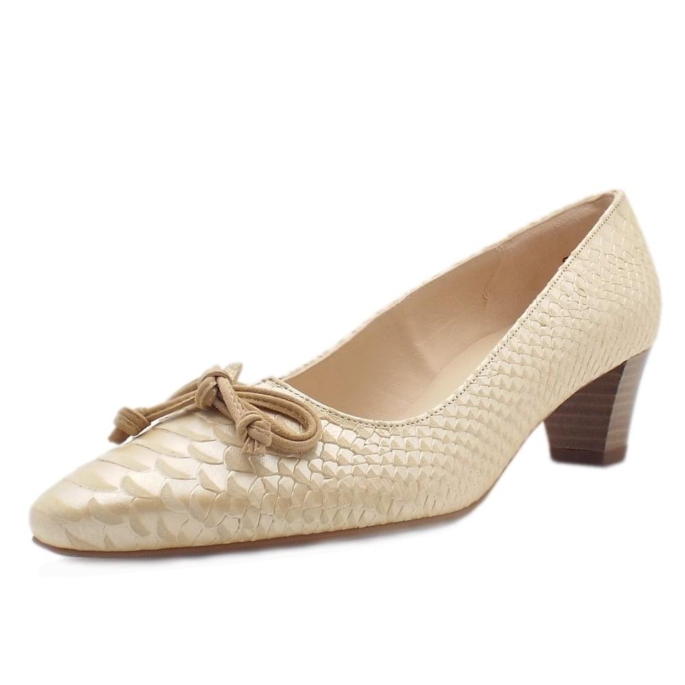 peter kaiser uk stephanie sabbia birman leather mid heel pumps. Black Bedroom Furniture Sets. Home Design Ideas