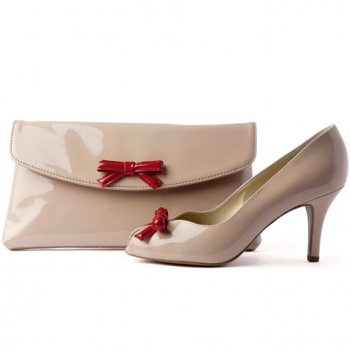 Peter Kaiser UK   Winifred   Lana Crackle Beige Patent