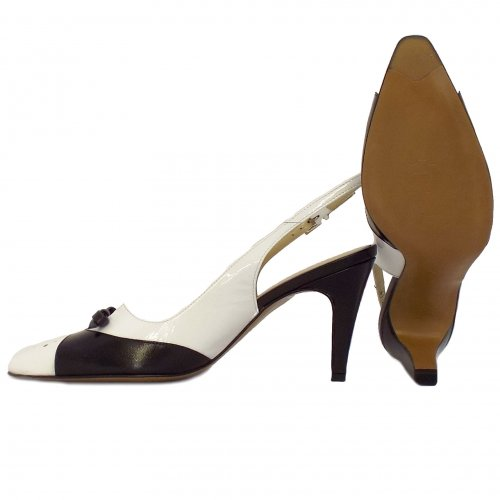 Black Patent Leather Shoes For Summer For Ladies Evening