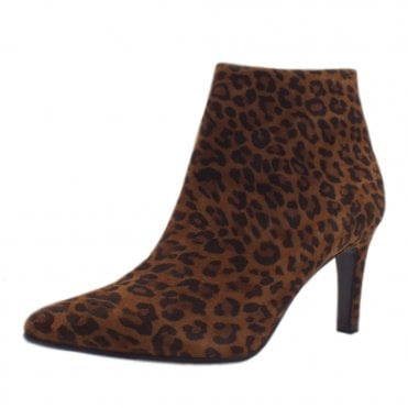 Uma Stylish Ankle Boot in Leopard