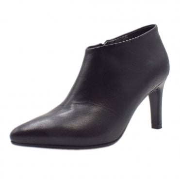 Ursina Black Glove High Heel Boots