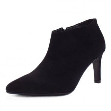Ursina Black Suede High Heel Boots