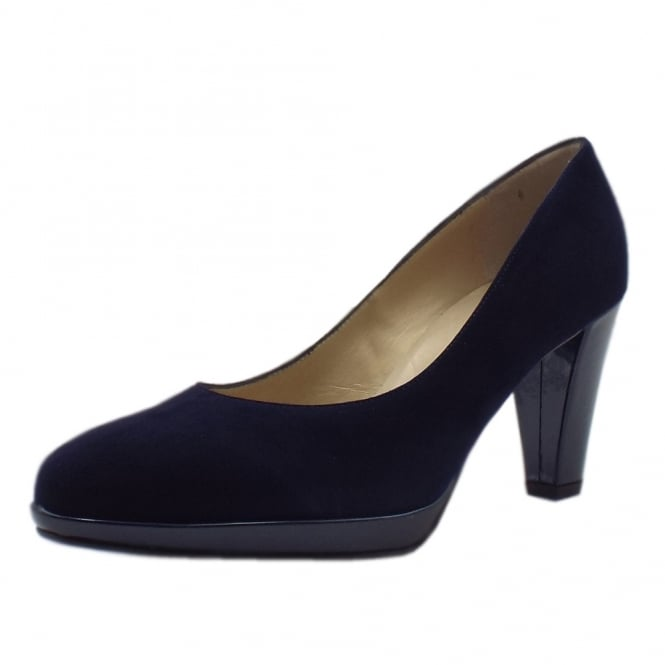 Velia Notte Suede High Heel Fashionable Pumps