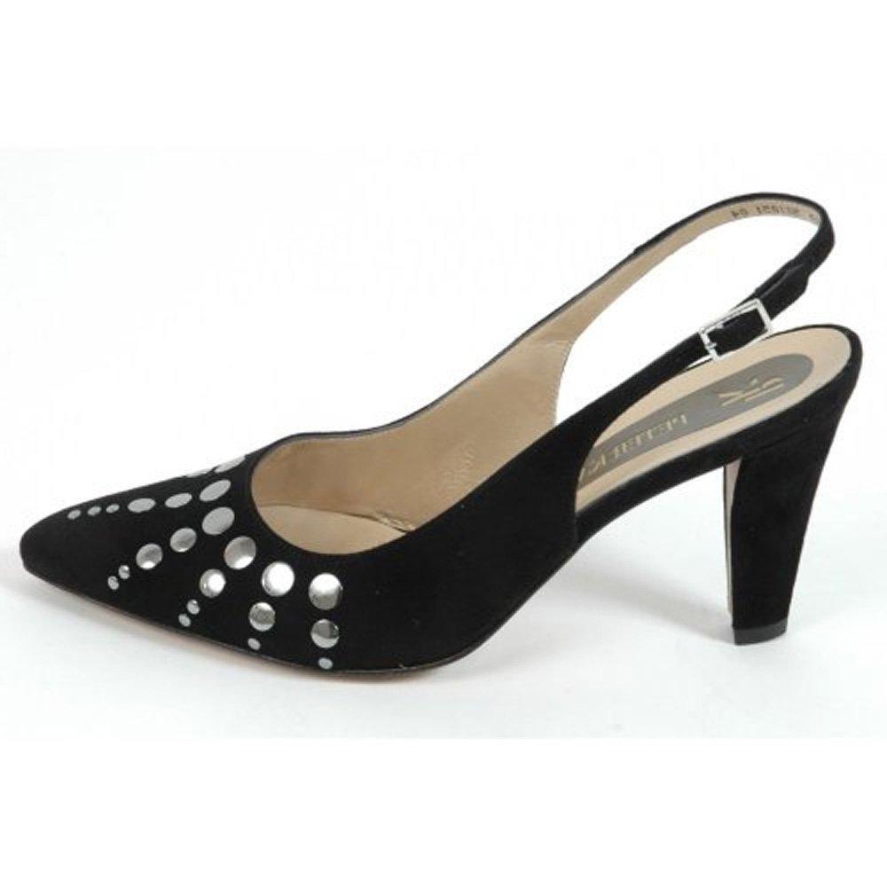 Black Dressy Slingback Shoes