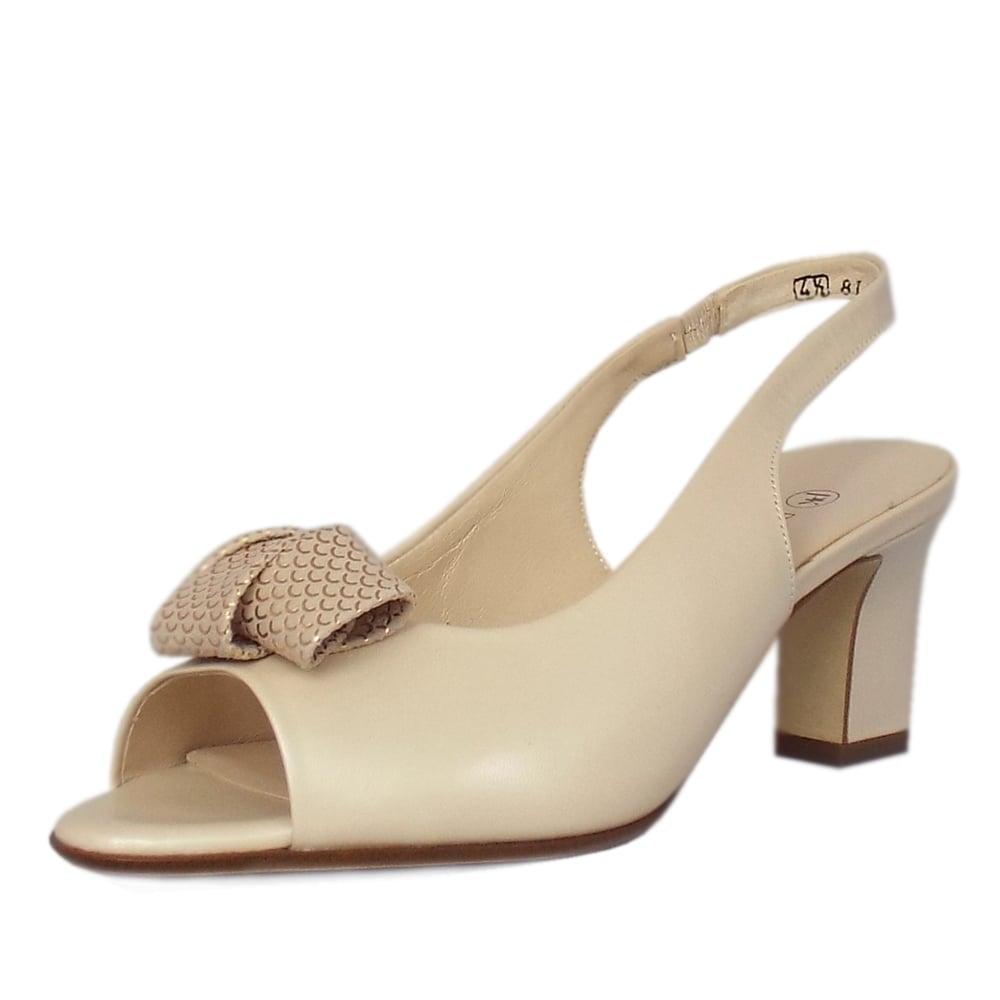 Peter Kaiser Vivett Lana Capri Peep Toe Sling back Sandals