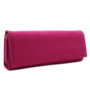 Winifred Berry Suede Evening Bag