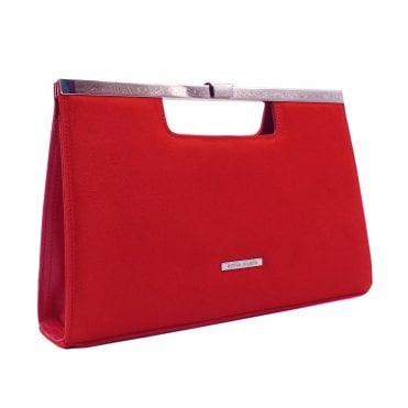 Wye Brasil Suede Stylish Clutch Bag
