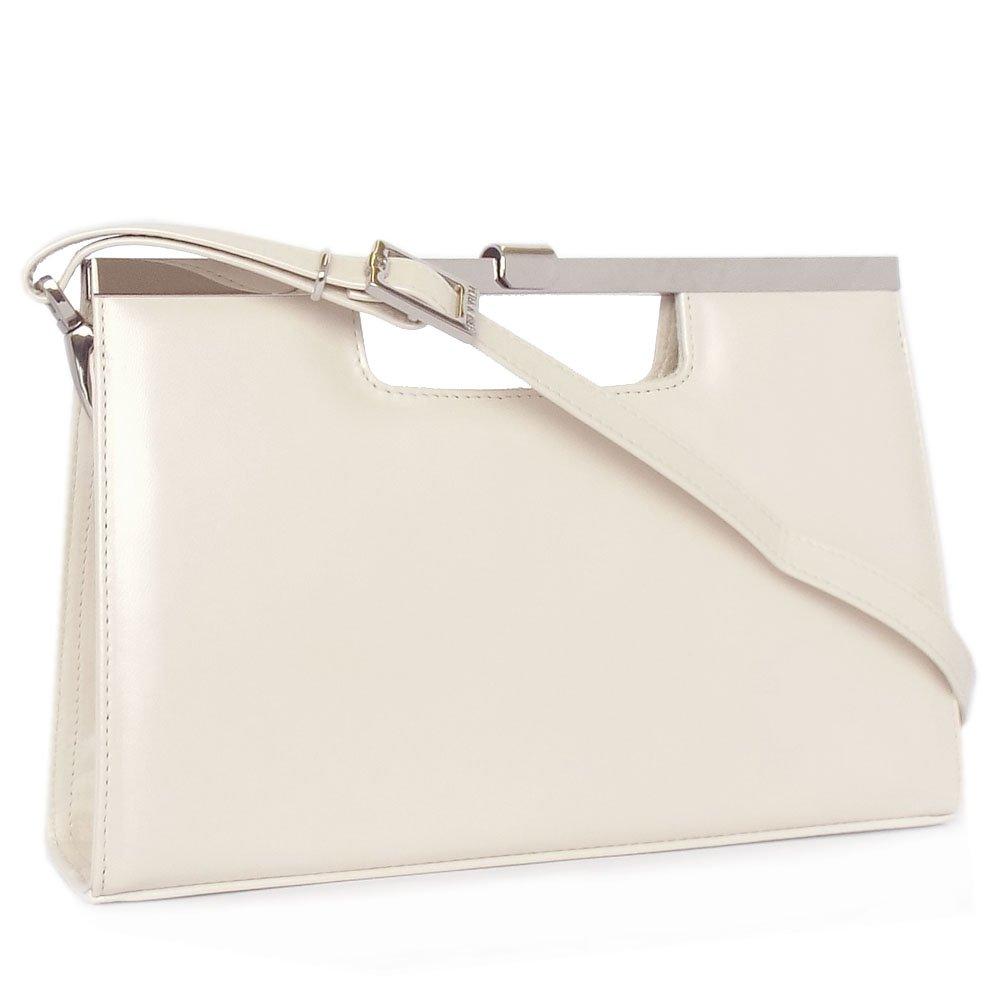 Cream Evening Bag 43