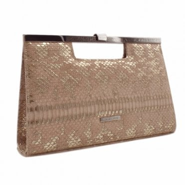 Wye Mauve Ayers Stylish Clutch Bag
