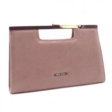Wye Mauve Sarto Suede Stylish Clutch Bag