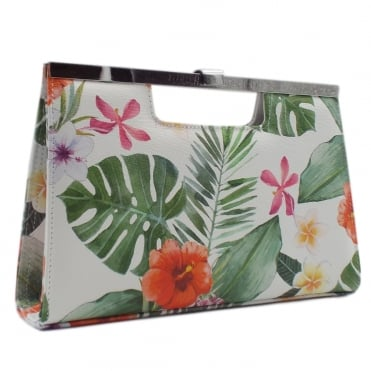 Wye Multi Tropic Evening Clutch Bag