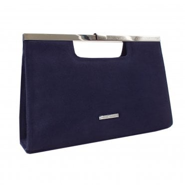 Wye Notte Suede Stylish Occassion Clutch Bag