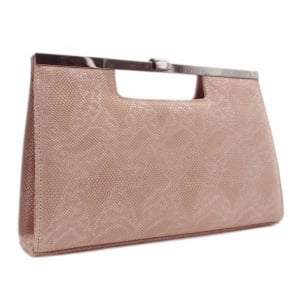 Wye Rose Tiles Evening Clutch Bag