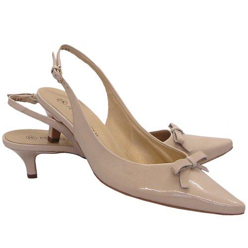 Peter Kaiser Rosette | Ladies Slingback Kitten Heels Shoes