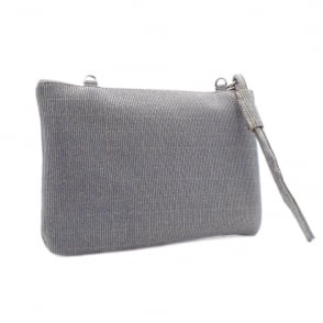 Saldina Topas Shimmer Small Clutch Bag